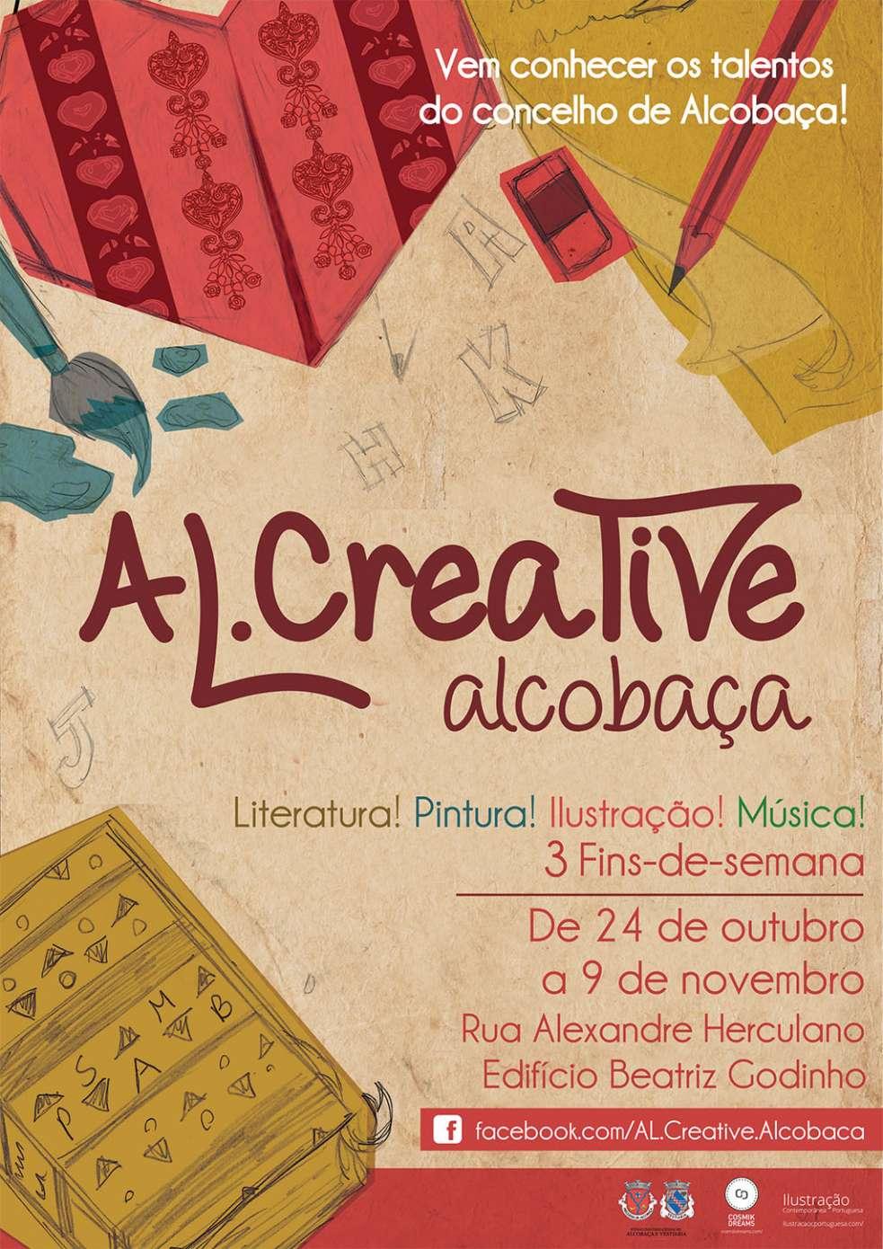 CARTAZ_AL.CREATIVE_ALCOBAÇA A4